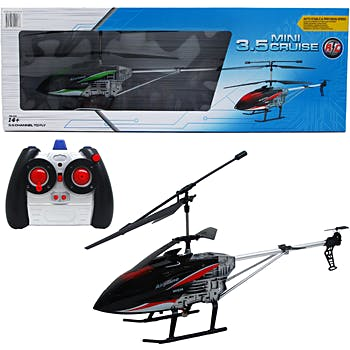 Wholesale 16 5 3 5 Ch Remote Control Helicopter With Charger Sku 1935187 Dollardays