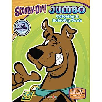 Wholesale Scooby Doo Jumbo Coloring Activity Book Sku 1818468 Dollardays