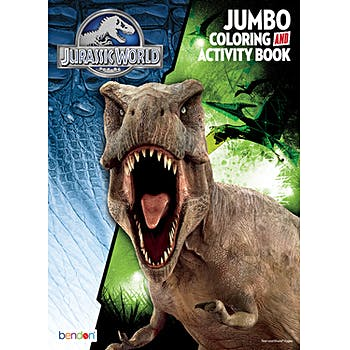 7800 Jurassic World Coloring And Activity Book HD