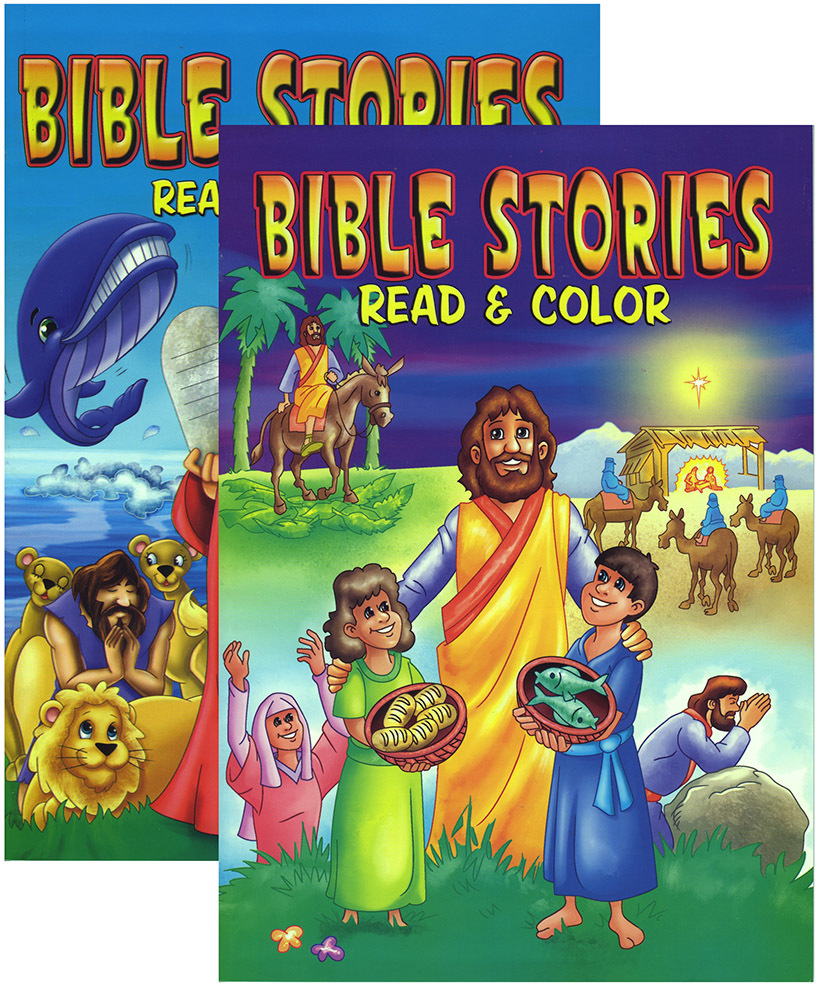 Bible Story Coloring Book