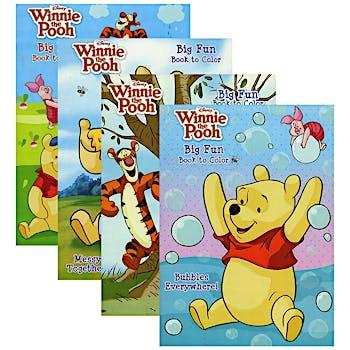 Winnie the Pooh Coloring Book - Big Fun!