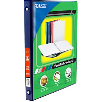 wholesale half inch capacity 3 ring binders 1 2 binders bulk