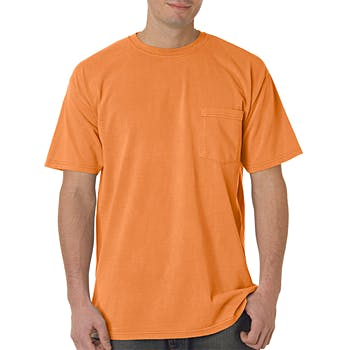 Wholesale Comfort Colors Adult Pocket Tee Melon Pgmdye Xl Sku