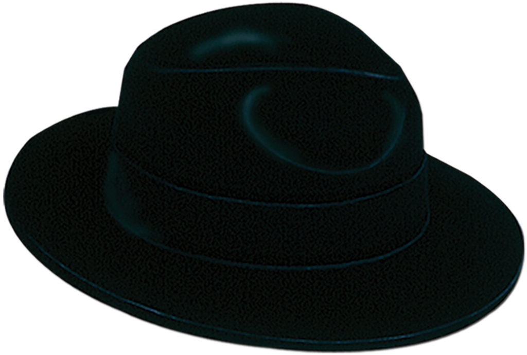3ce12a524c6 Wholesale Black Velour Fedora (SKU 544740) DollarDays