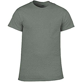 2018 shoes sale usa online outlet Graphite Heather Irregular Gildan Pocket T-shirts - Large