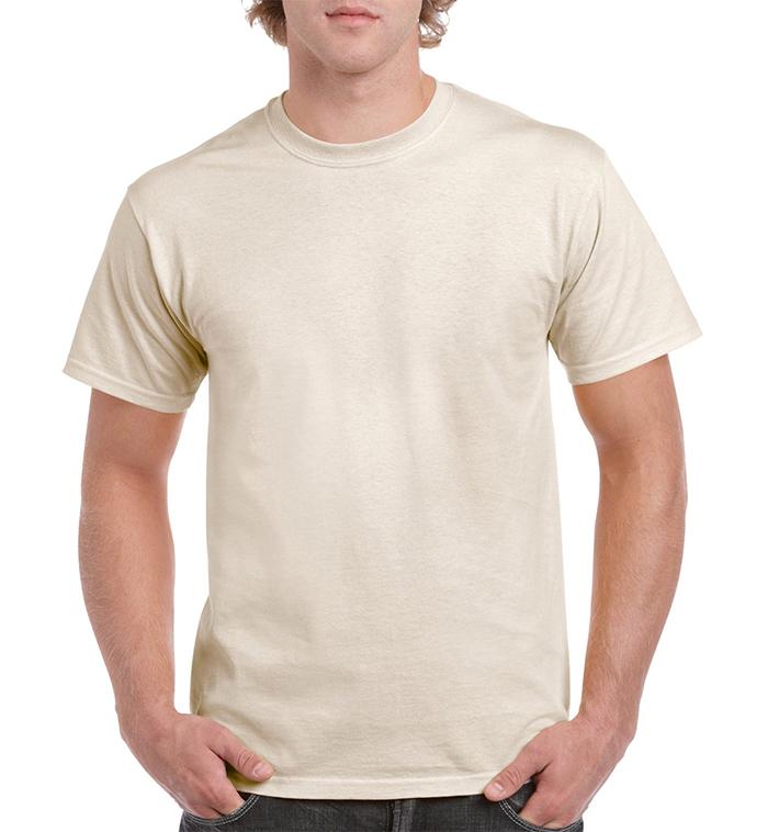 T-Shirt Adult 5.3oz NATURAL XL