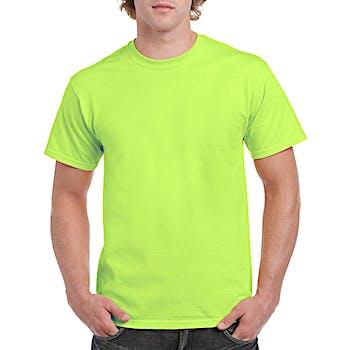 f763603b22 Neon Green Mill Graded Irregular Gildan Adult T-shirt - XL