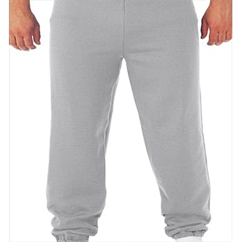special selection of selected material no sale tax Fruit Of The Loom - Closed Bottom Sweatpants With Pockets - Sports Grey -  2Xl