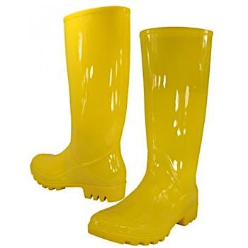 Yellow Womens Rain Boots