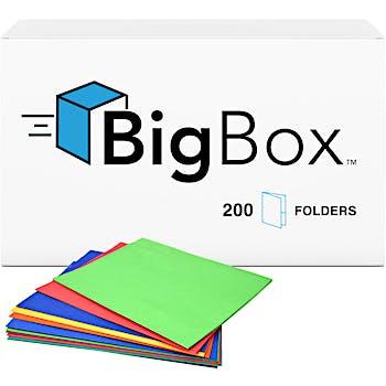 Box Of Two Pocket Folders