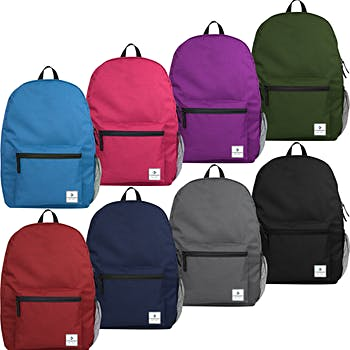 a32d16470a091 DollarDays | Wholesale Backpacks | Bulk Drawstring Bags | Clear ...
