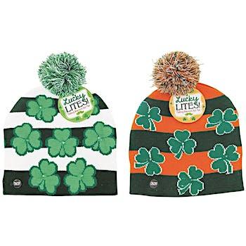 e1635389b285e6 Wholesale St. Patrick's Day Light Up Hat (SKU 2286586) DollarDays