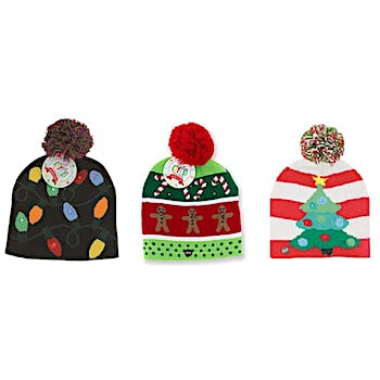a8c7a0a52e970 Wholesale Lotsa Lites! Flashing Holiday Knitted Hat (SKU 2317523 ...