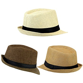 Wholesale Dress Hats - Bulk Mens Dress Hats - Fedora Hats - DollarDays 7aa2090e8b0