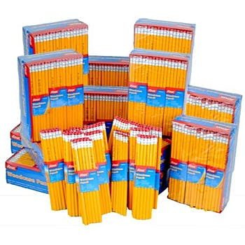 Pencil - Pack of 12 Pencils  Bulk Case of #2 pencils