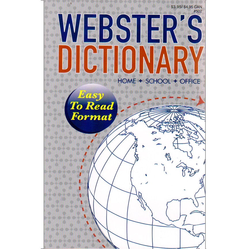 Websteru0027s Dictionary   Home/School Edition