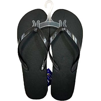 bd8ed11cd2f0b Wholesale Women s Black Flip Flops