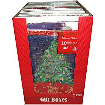 Wholesale Holiday Gift Boxes Bulk Christmas Gift Boxes Dollardays