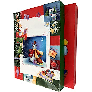 christmas gift boxes 2 pack 17 x 11 - Christmas Gift Boxes Wholesale