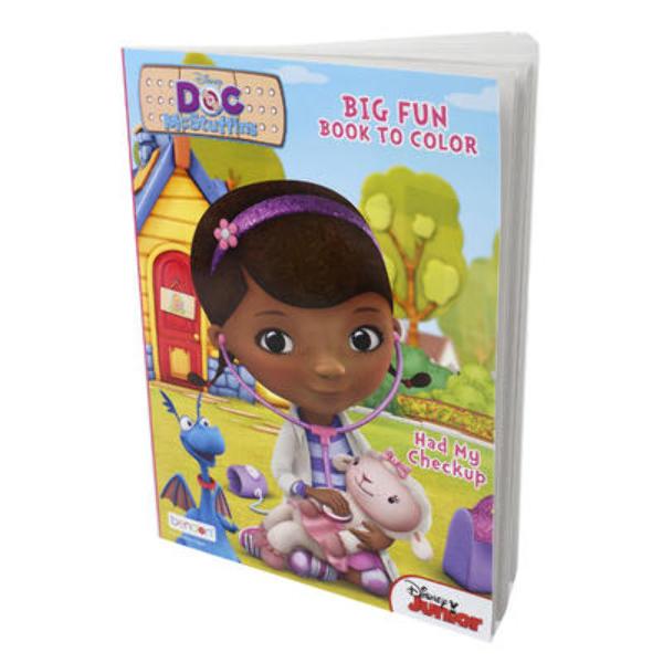 Wholesale Disney Doc Mcstuffins Coloring Book Sku 2322635 Dollardays