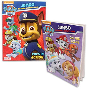Paw Patrol Jumbo Coloring Book 96 Pages
