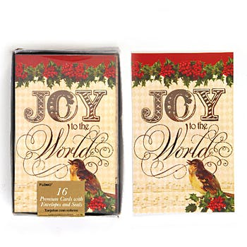 joy to the world boxed christmas cards 16 count - Animal Christmas Cards