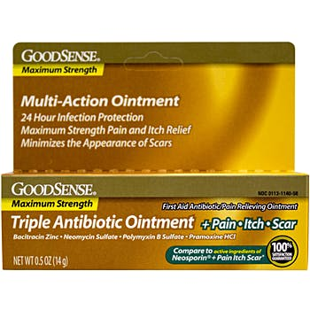 Triple Antibiotic + 24-Hour Multi-action Ointment
