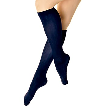 8009dcd35f4 Wholesale J. Ann Women s Knee High Trouser Socks - Navy (SKU 2288159 ...
