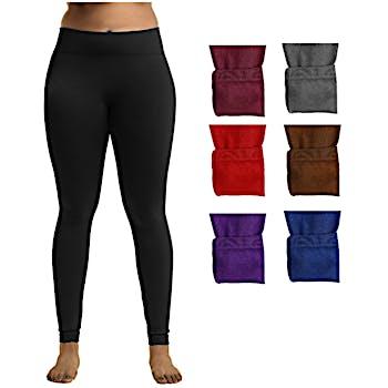 be0f710600e Wholesale Ladies Plus Size Fleece Lined Leggings (SKU 2322837) DollarDays