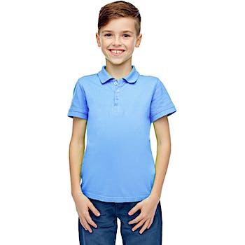 ec2083797 Wholesale Boys Short Sleeve Light Blue Polo Shirts - Size 8-14 (SKU  2191462) DollarDays
