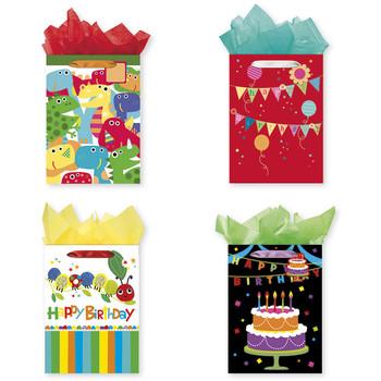 Jumbo Juvenile Birthday Gift Bags