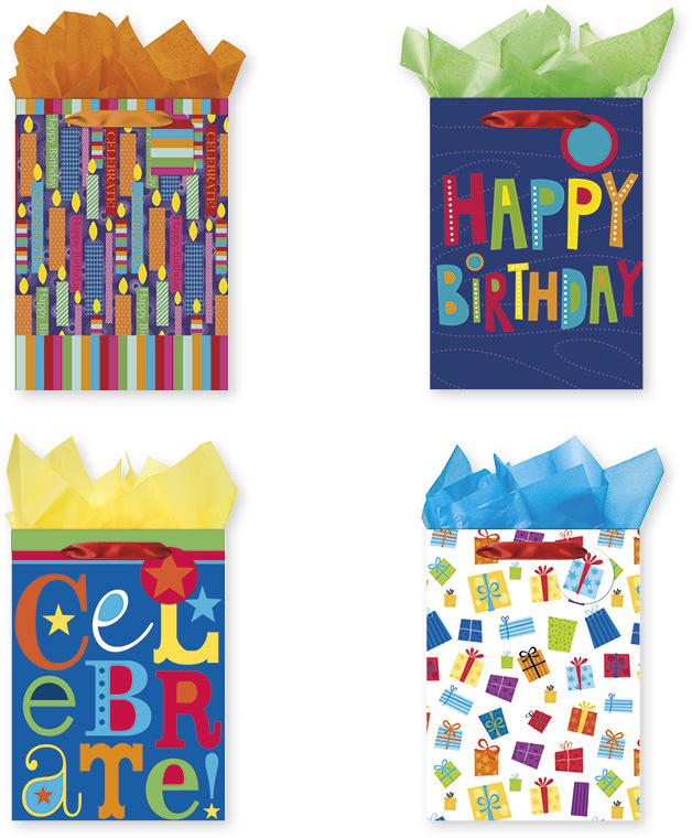 Wholesale Jumbo Birthday Gift Bags SKU 1995500 DollarDays