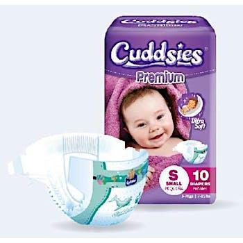 9fcd80aab Wholesale Cuddsies Premium Ultra Soft Diapers - Small (SKU 2329241)  DollarDays