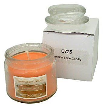 Pumpkin Spice Candle Jar