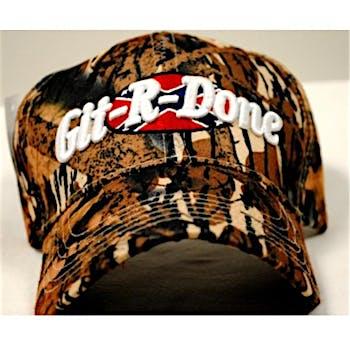 e8ef14d4aad Wholesale Adjustable Baseball Hat Caps Git-R-Done Camouflage (SKU ...