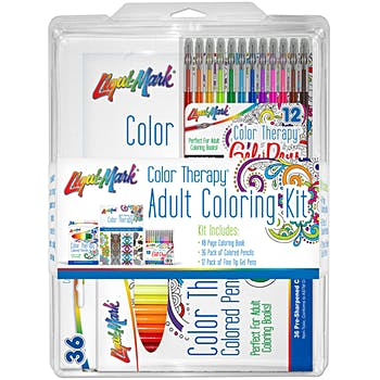 Wholesale Color Therapy Adult Coloring Kit (SKU 2328768 ...