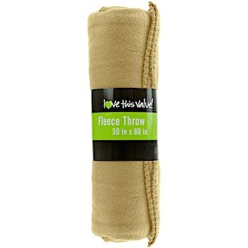 611f70dd7c Tan Fleece Blankets - 50