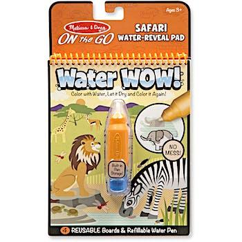 Melissa Doug Water Wow Safari Water Reveal Pad