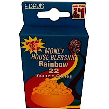 Incense Cones, Rainbow - 22ct