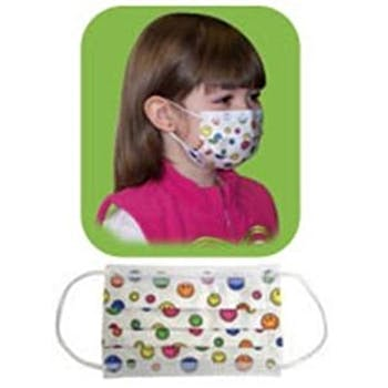 Child Mask Size Face White Curad® -