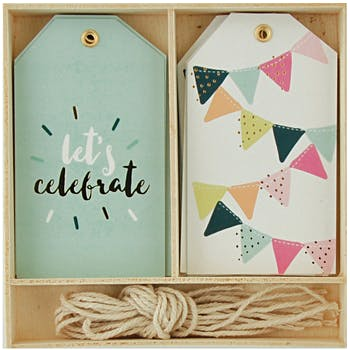 Wholesale Gift Tags - Bulk Gift Tags - Decorative Gift Tags