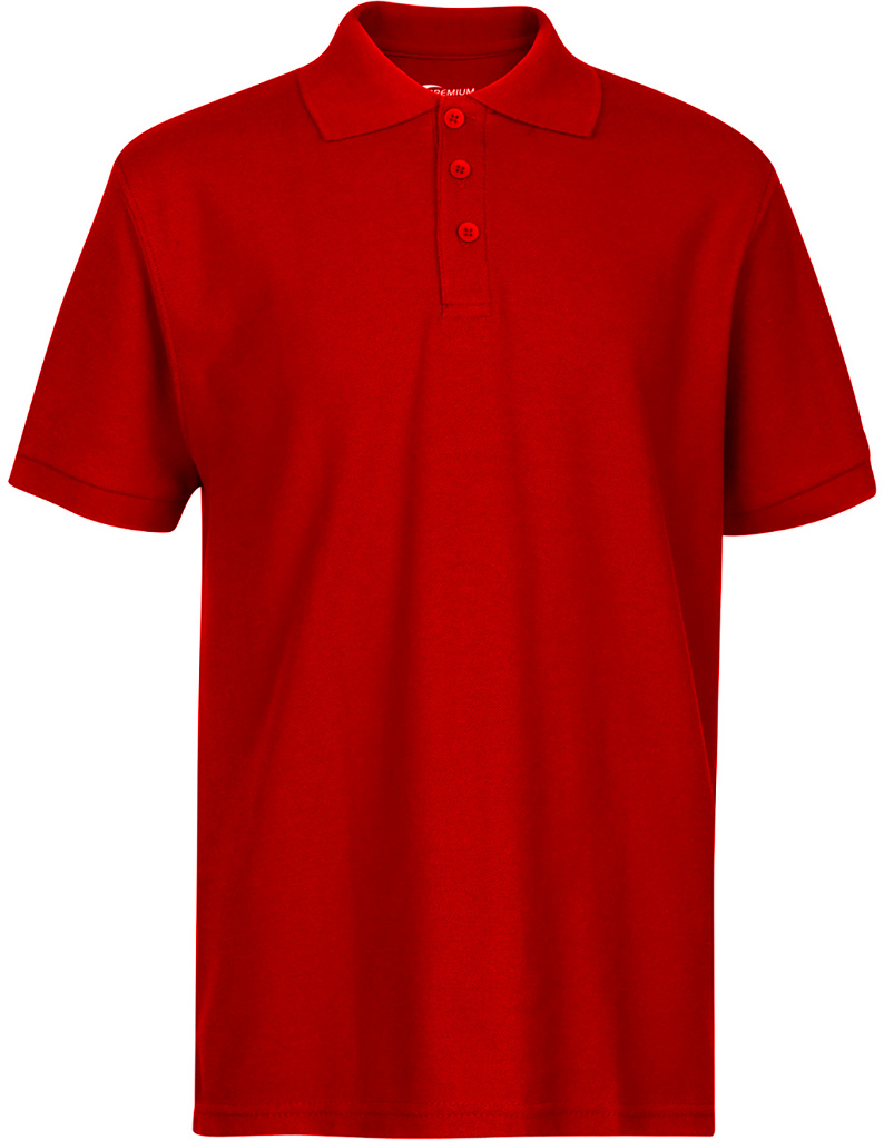 Wholesale Premium Red Youth Polo Shirt Size 23 Xxxs Sku