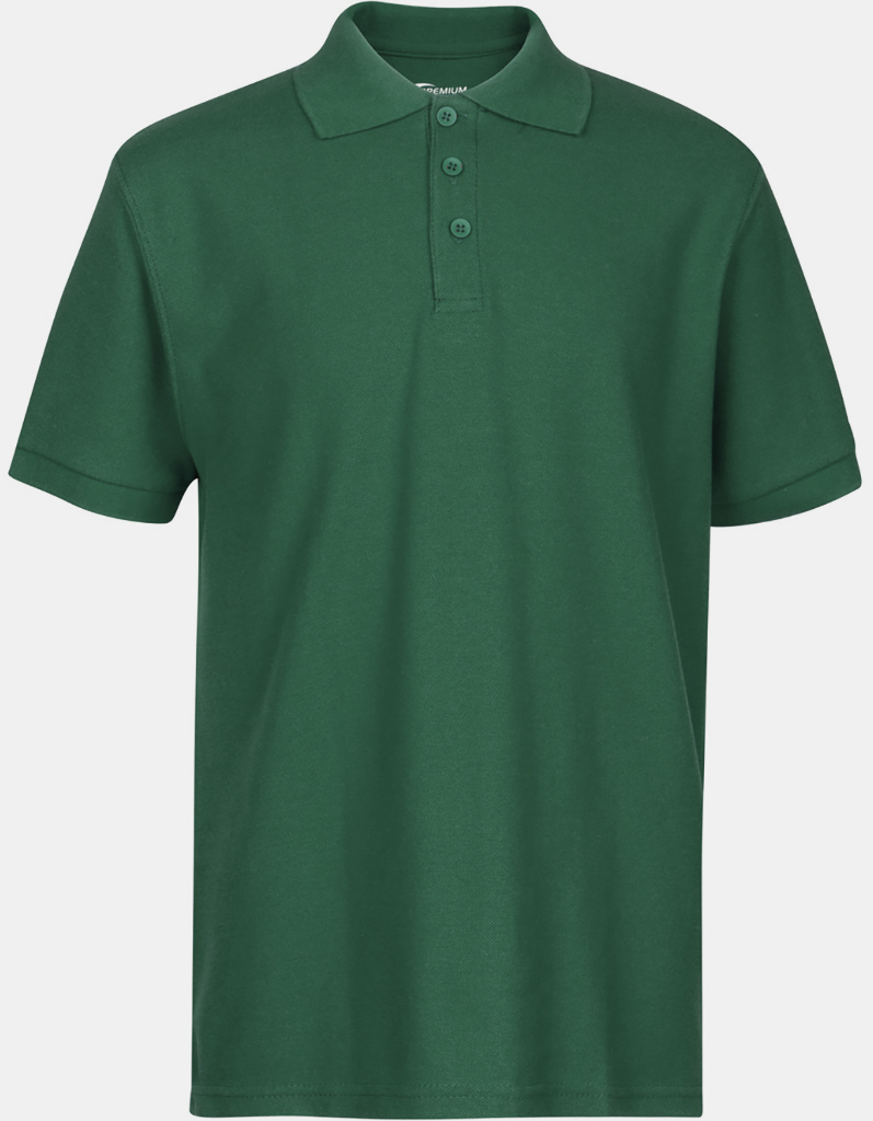 Wholesale Premium Hunter Green Youth Polo Shirt Size 1820 Xl