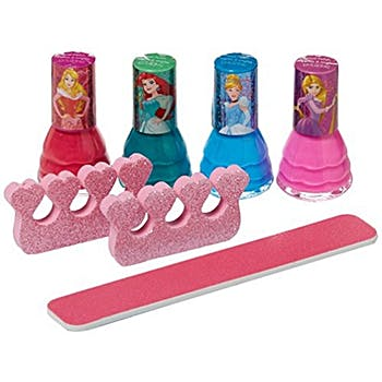 Disney Princess 7 Piece Nail Polish & Nail Files