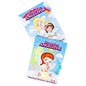 Pequenos Angelitos Spanish Coloring Books - Assorted