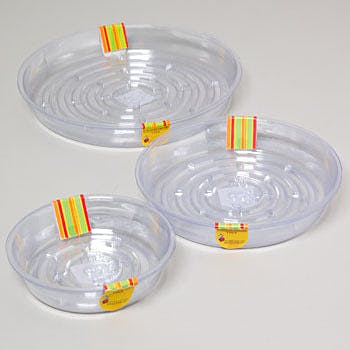 Wholesale Clear Plastic Planter Saucers Assorted Sizes Sku 368034