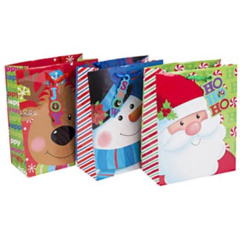 large christmas gift bag 6 designs