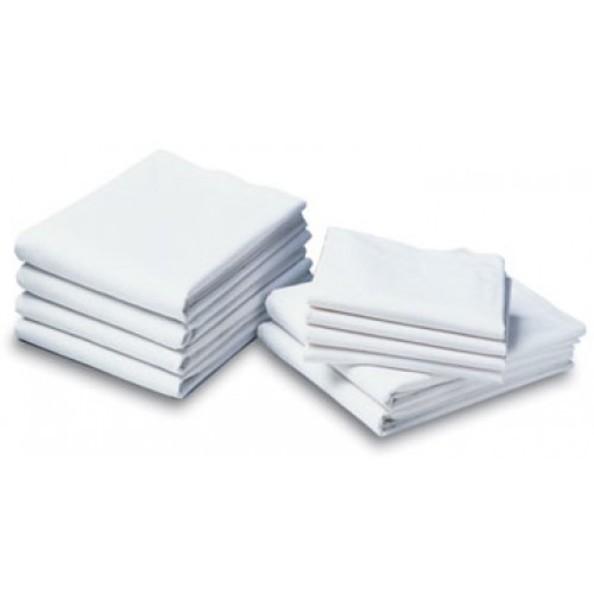 Twin Size Flat Economy Sheet Color White Pkg One Dozen-T-130
