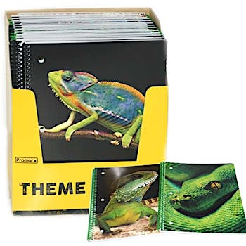 70 Page Notebook - Reptiles