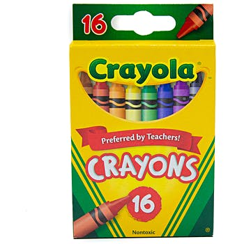 Wholesale Crayola Crayons 16 ct. (SKU 2332021) DollarDays